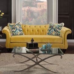 Overstock Sofa Dining Set Outdoor Shop Furniture Of America Agatha Traditional Tufted On Sale