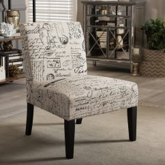 Modern Slipper Chair White Plastic Chairs For Wedding Shop Baxton Studio Phaedra French Script Free