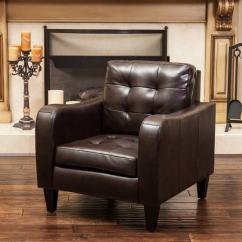 Christopher Knight Club Chair Prouve Standard Replica Shop Sorrento Leather By Home - Free Shipping Today Overstock ...