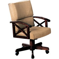 Oval Office Chair Does Medicare Pay For Shower Chairs Shop Coaster Company Beige Chenille Cherry Wood Game On Sale Free Shipping Today Overstock Com 9286025