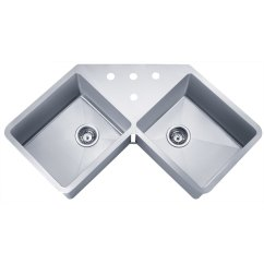 Ss Kitchen Sinks Ikea Island Canada Shop Wells Sinkware Handcrafted Butterfly Undermount Double Bowl X27 Stainless Steel