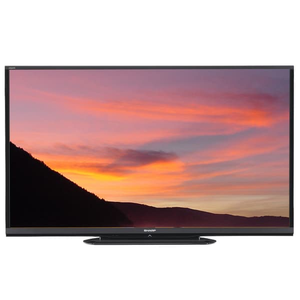 Shop Sharp Aquos HD 70-inch Smart LED TV with Wi-fi (Refurbished) - Free Shipping Today - Overstock.com - 9313187