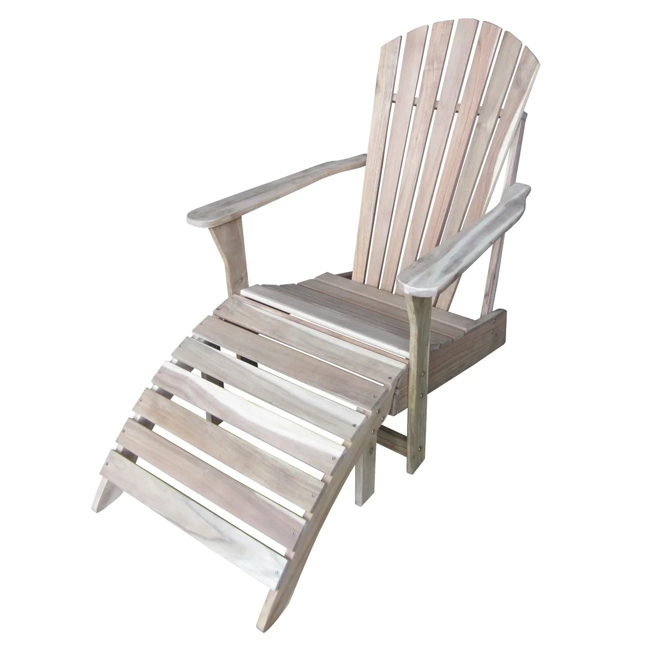 unfinished adirondack chair herman miler shop 2 piece with footrest set free