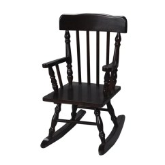 Rocking Chair Kids Ergonomic Office Johannesburg Shop Gift Mark Home Resting Colonial Espresso Free Shipping Today Overstock Com 9319960