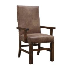 Overstock Arm Chair Modern Reading Emerald Upholstered Parson Nailhead Set Of 2