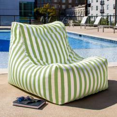 Green Bean Bag Chair Who Sells Papasan Chairs Outdoor In Door Best Cushion Ebay