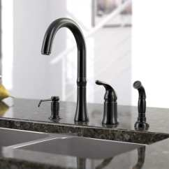 Four Hole Kitchen Faucets How Much Does It Cost To Refinish Cabinets Shop Sir Faucet 4 Widespread Free Shipping