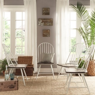 windsor kitchen chairs malibu pilates chair exercises chart buy dining room online at overstock com belita mid century two tone modern spindle wood set of 4