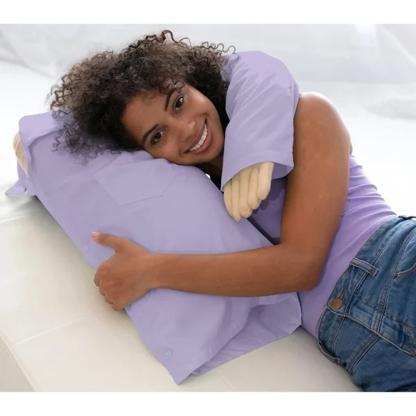 boyfriend pillow intimate romantic