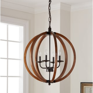 kitchen chandeliers mexican style buy online at overstock com our best lighting the gray barn vineyard 4 light orb chandelier