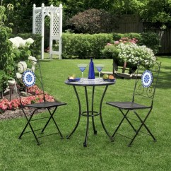 Blue Bistro Chairs White Outdoor Nz Shop Furniture Of America Spector Mosaic Set 2 Free Shipping Today Overstock Com 9420624