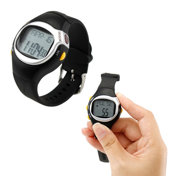 Shop Gearonic LED Pulse Rate Heartbeat Monitor Calories ...