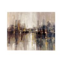 "Signature Design by Ashley Barid's ""Abstract Cityscape ..."