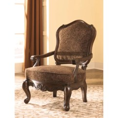 Brown Accent Chairs Best Toddler Chair For Kitchen Table Shop Signature Design By Ashley North Shore Dark