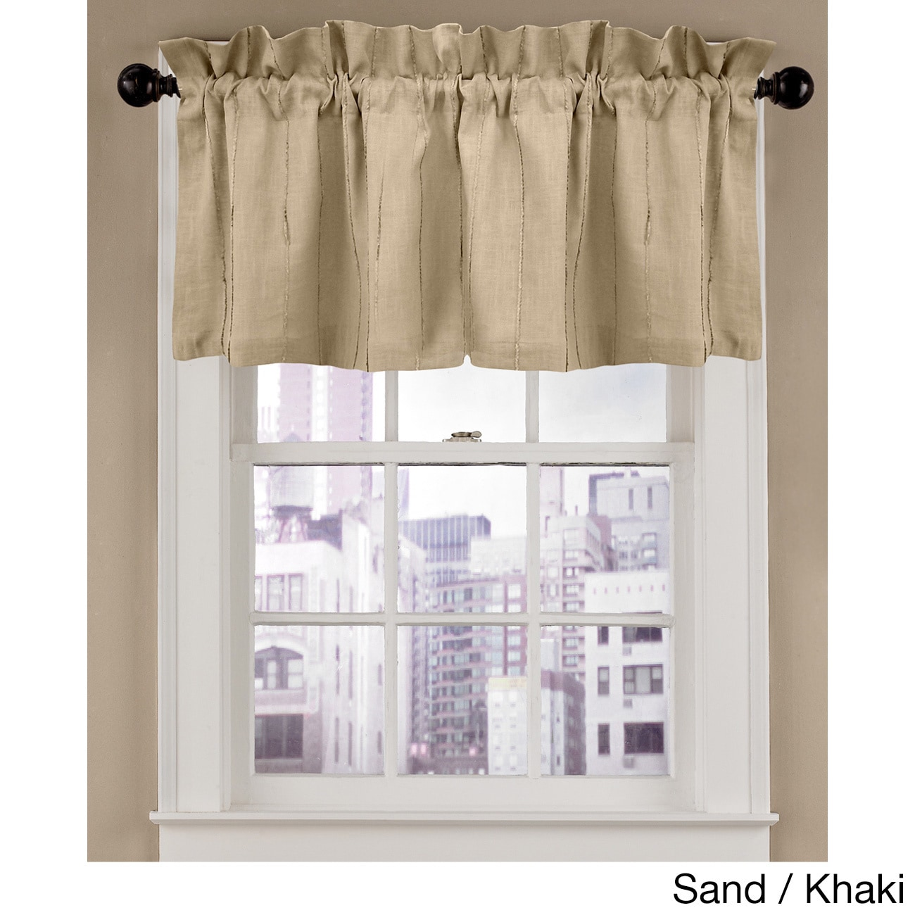 Grand Luxe Madison Tailored Window Valance