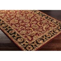 Hand-Tufted Ollie Traditional Border Accent Rug (2' x 3 ...