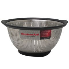 Kitchen Colander Tables At Target Shop Aid Black Stainless Steel 3 Quart Ships To