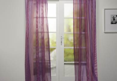 Article Sheer Plum Curtains