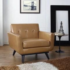 Tan Leather Chair Sale Infinity It 8500 Massage Shop Carson Carrington Sigtuna Mid Century Armchair On