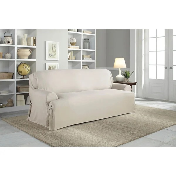 Shop Tailor Fit Relaxed Fit Cotton Duck Tcushion Sofa