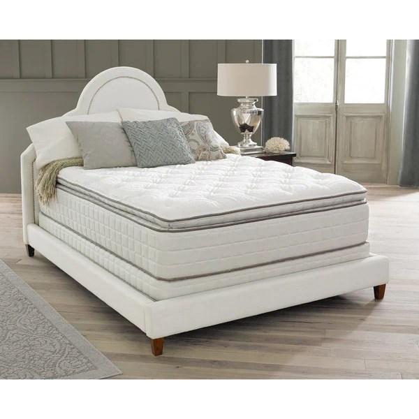 Spring Air Backsupporter Sa Pillow Top Queen Size Mattress Set