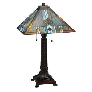 26-inch Prairie Wheat Sunshower Table Lamp