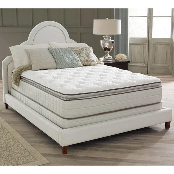Spring Air Premium Collection Noelle Pillow Top King Size Mattress Set