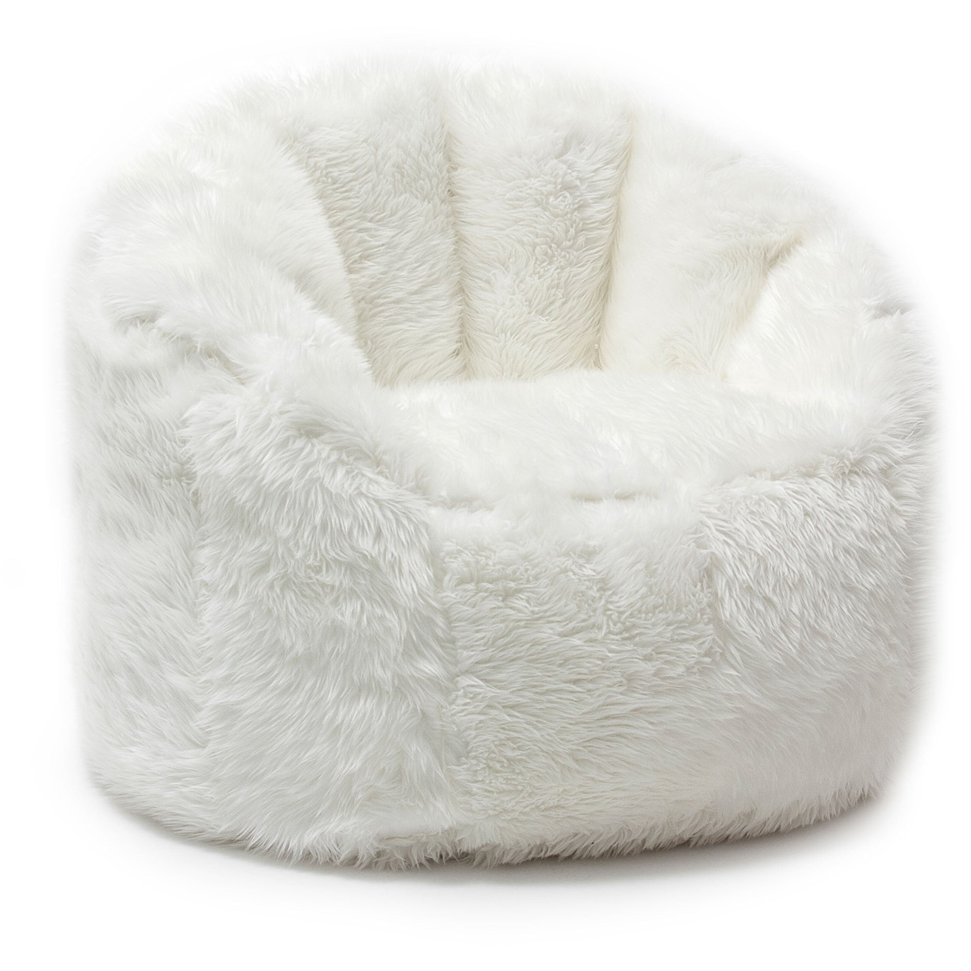 Big Joe Milano Chair Big Joe Lux Milano Shag Fur Chair Ebay