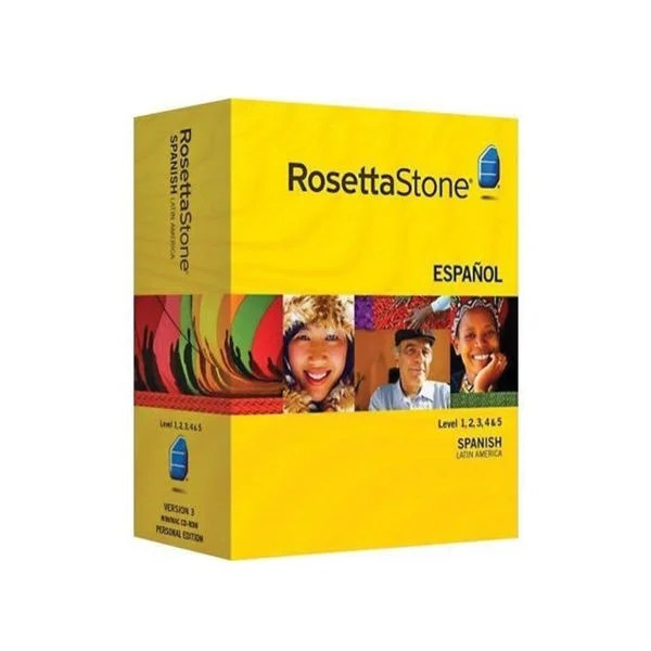 Rosetta Stone Spanish - Level 1-5 Set Free Shipping Today 16721471