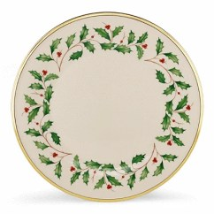 Lenox Christmas Chair Covers Folding Picnic Chairs Shop Holiday Dinnerware Dinner Plate Set Of 6 Free Shipping Today Overstock Com 9547103