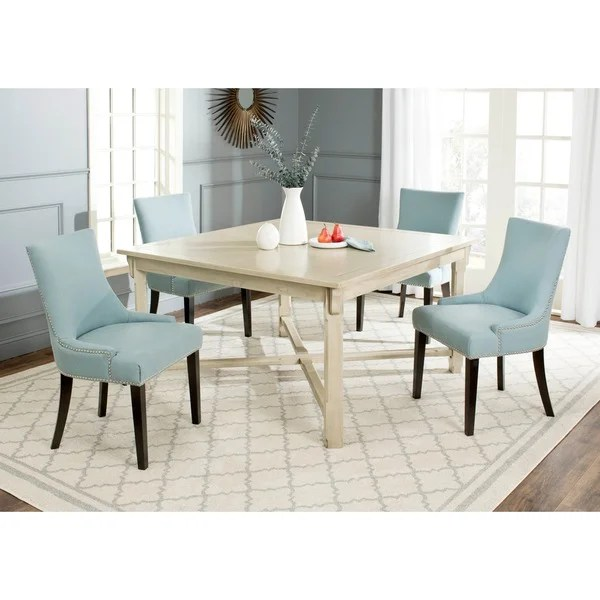 Shop Safavieh Bleeker White Washed Dining Table  Free