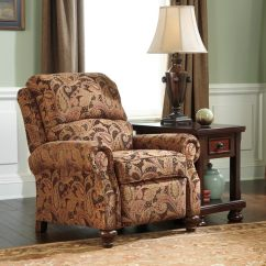 Big And Tall Recliner Chair Lawn Chairs For Sale Signature Designs By Ashley 'hutcherson' Spice Paisley Brown Low Leg - 16758042 ...