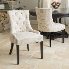 Christopher Knight Club Chair White Swivel Desk Uk Hayden Tufted French Script Dining (set Of 2) By Home - Free Shipping ...