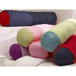 Super Soft Microfiber Bolster Throw Pillow