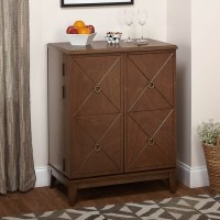 Simple Living Lexington Wine Cabinet - Overstock Shopping ...