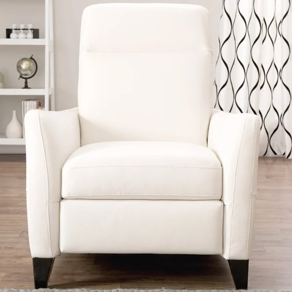 darvis leather recliner club chair brown christopher knight home desk connected to natuzzi dallas off-white italian - free shipping today overstock.com 16802165