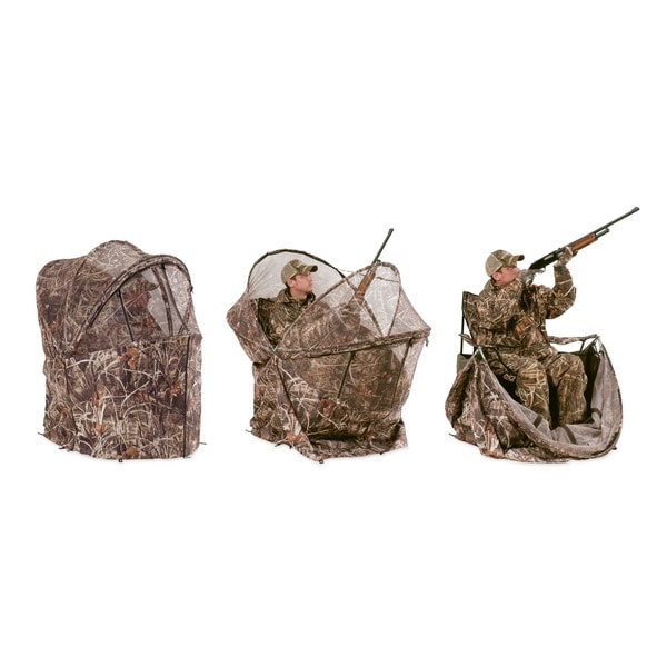 ameristep chair blind wagon wheel rocker duck commander rapid shooter tent - free shipping today overstock.com ...