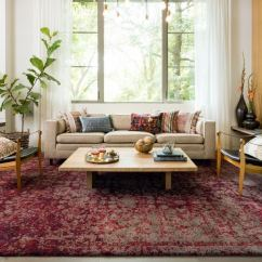 Red Rugs For Living Room Decorating Colour Ideas Shop Hastings Vintage Rug 5 3 X 7 Free X27