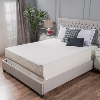 Choice 10 Inch Twin Xl Size Memory Foam Mattress By Christopher Knight Home