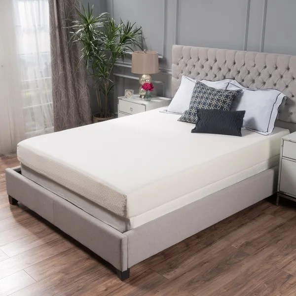 Choice 8 Inch Full Size Memory Foam Mattress By Christopher Knight Home