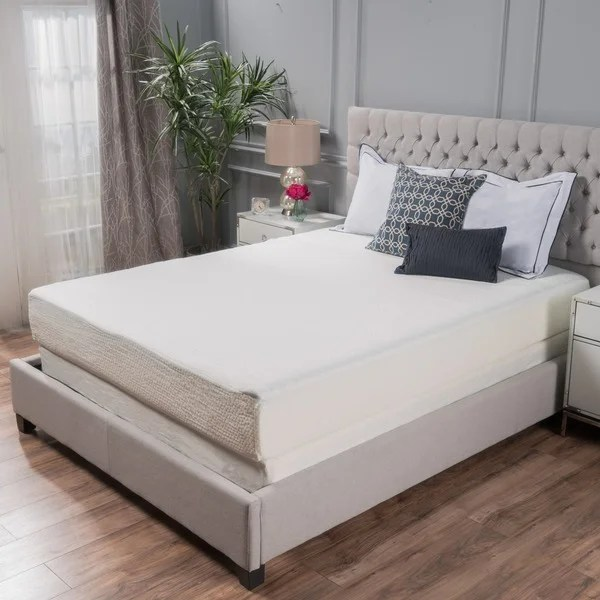 Choice 10 Inch Twin Size Memory Foam Mattress By Christopher Knight Home