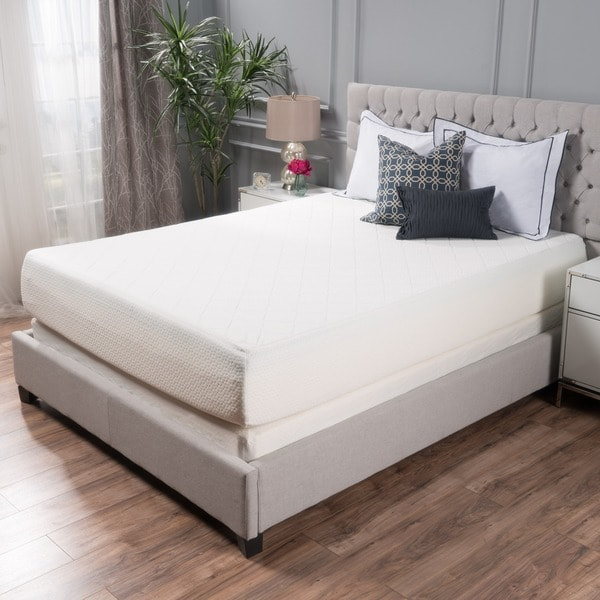 Choice 12 Inch Queen Size Memory Foam Mattress By Christopher Knight Home
