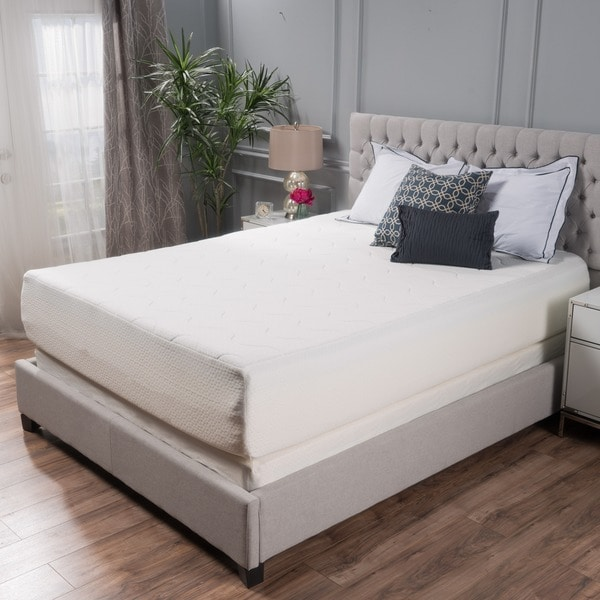 Choice 14 Inch Queen Size Memory Foam Mattress By Christopher Knight Home