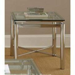 Natal Chrome And Glass Sofa Table Grey Corner Bed Ikea Greyson Living End - Free ...