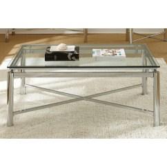 Natal Chrome And Glass Sofa Table Teddy Bear Cena Coffee Overstock Shopping