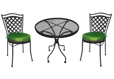 Sturdy Wrought Iron Patio Outdoor Furniture At
