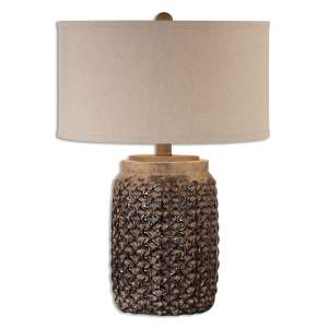 Uttermost Bucciano 1-light Rust Brown Table Lamp