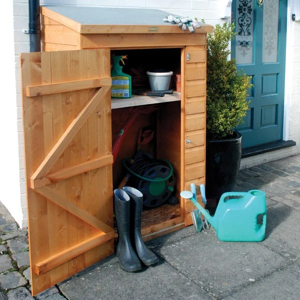 Small Wood Storage Shed