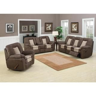 ryker reclining sofa and loveseat 2 piece set cushion covers washing machine living room sets furniture - shop the best deals for jan 2017