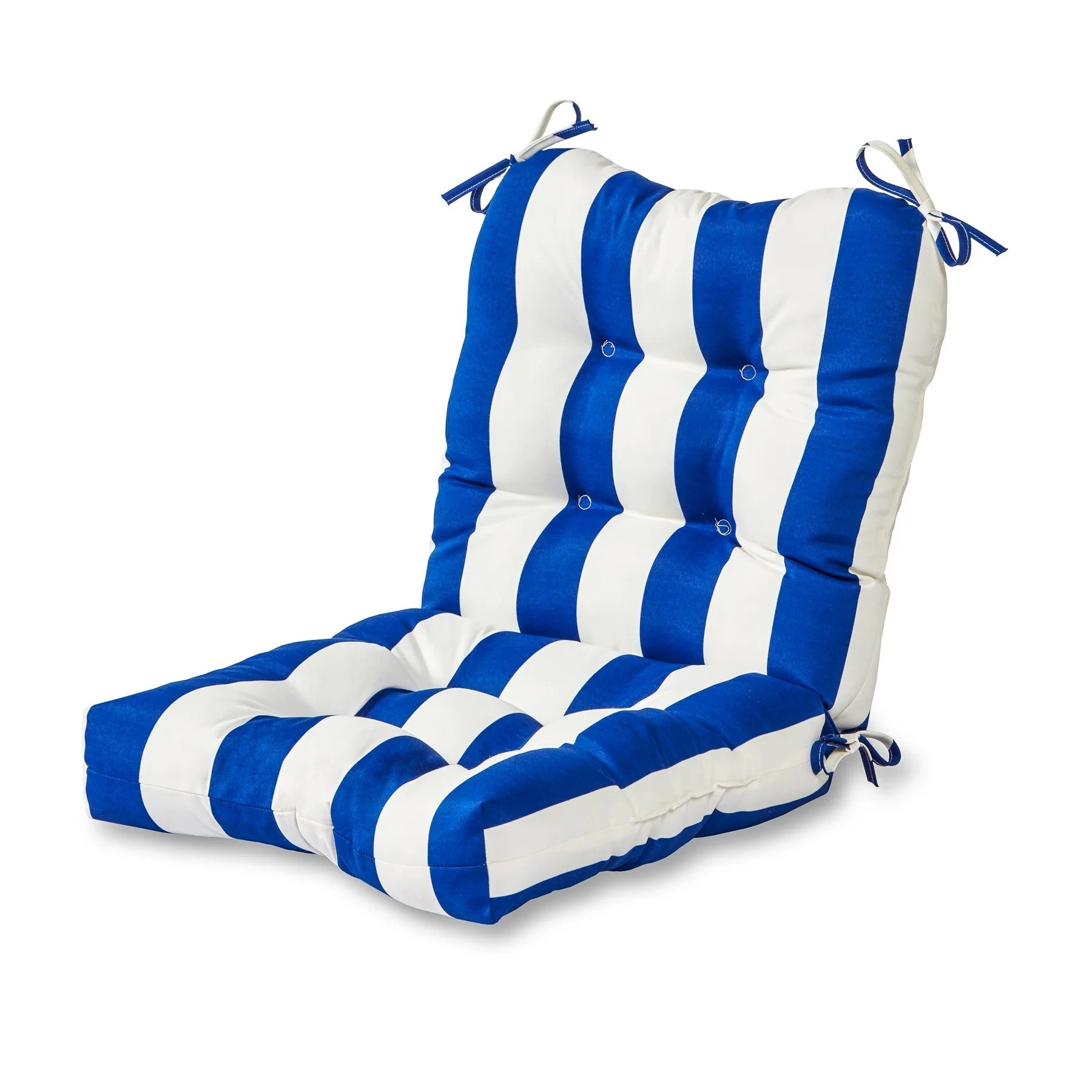 brentwood originals chair pads cushion covers for chairs outdoor cabana stripe ebay